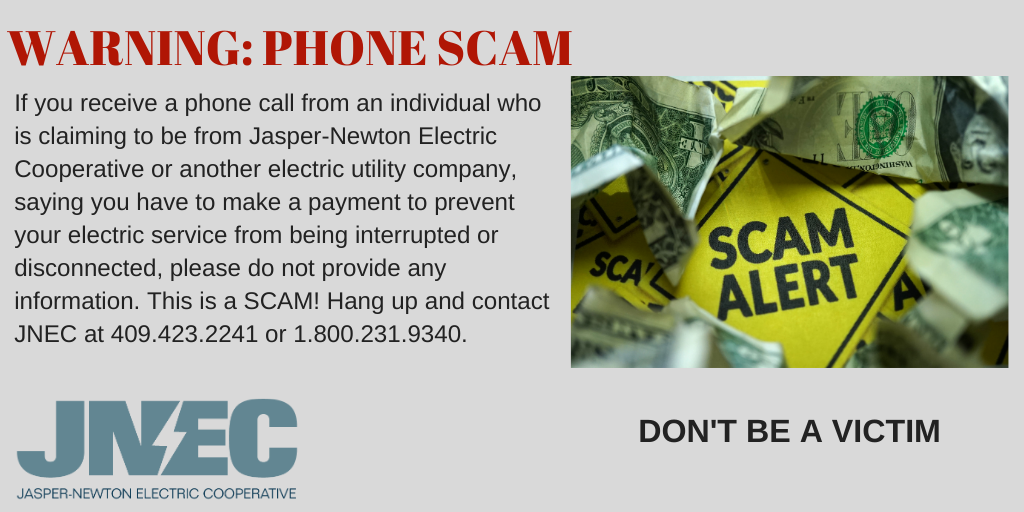 Announcement on Phone Scam
